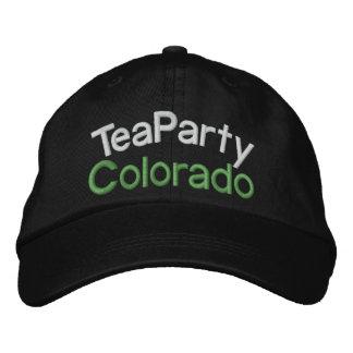 SALE! Din Tea som Party-Beskattas till maxet av Broderad Baseball Keps