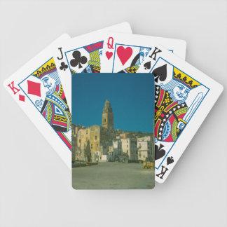 Salerno, kyrka och town spelkort
