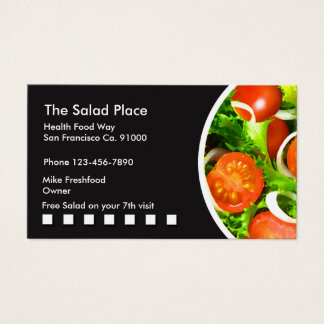 Salladrestaurang Businesscards Visitkort
