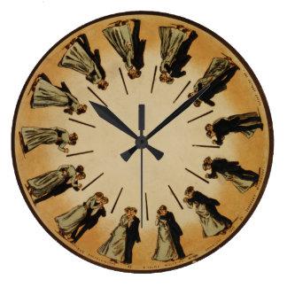 Sällskapsdansen kopplar ihop den Waltzing Stor Klocka