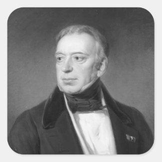 Salomon Mayer von Rothschild Fyrkantigt Klistermärke