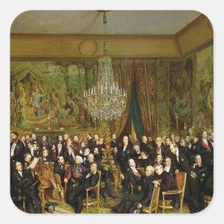 Salongen av Alfred Emilien, Comte de Fyrkantigt Klistermärke