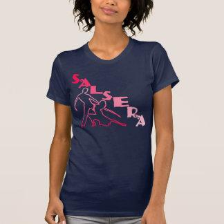 SALSERA-T-tröja med dans kopplar ihop Tshirts
