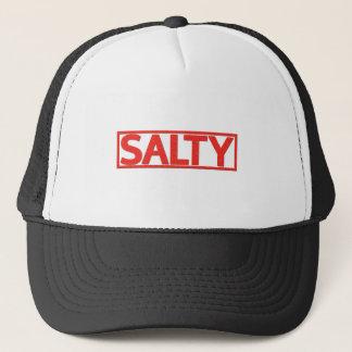 Salt frimärke keps