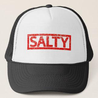 Salt frimärke truckerkeps