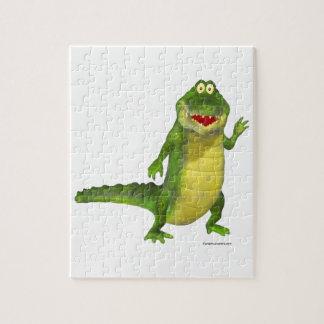 Salt krokodilen pussel