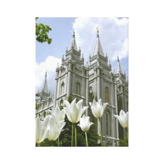 Salt Lake City LDS tempel Canvastryck