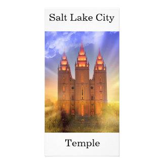 Salt Lake City LDS tempel Fotokort