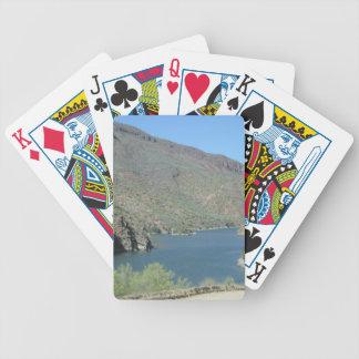 Salt River beskådar den Apache slingan Spelkort