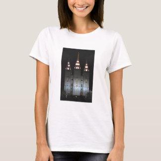 Salt sjötempel på natten t-shirt