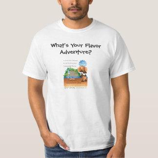 Salt sött anstrykningäventyr t shirts