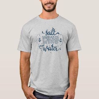 Salt, vind och vatten tee shirt