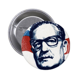 Salvador Allende - Venceremos Standard Knapp Rund 5.7 Cm