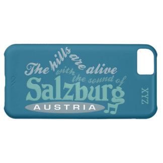 Salzburg beställnings- monogramcases iPhone 5C fodral