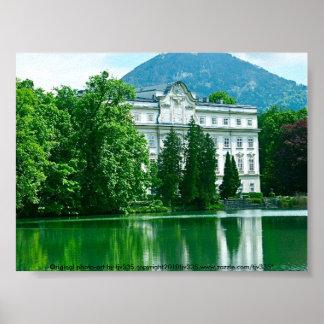 Salzburg ljud av musikhuset poster