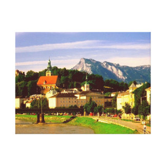 salzburg Österrike Canvastryck