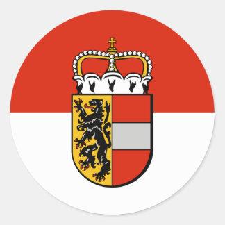 Salzburg Österrike Runt Klistermärke
