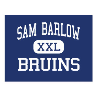 Sam Barlow - nallar - högstadium - Gresham Oregon Vykort