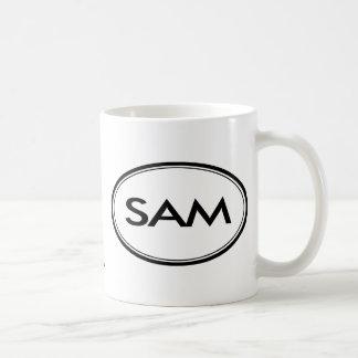 Sam Vit Mugg