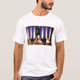 Sama sufi som virvlar dervishen tee shirt