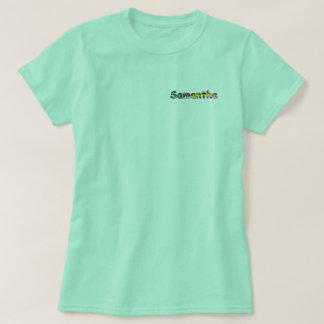 Samantha kvinna grundläggande T-tröja T Shirts