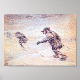 Samar i Snowstorm - Lappar mig snostorm Poster