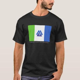 Samarbetad union av den Hildas triangelT-tröja Tee Shirt