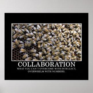 Samarbete förbättrar ditt riskerar av framgång [S] Poster
