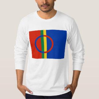 Sami flagga (långärmader) t-shirt