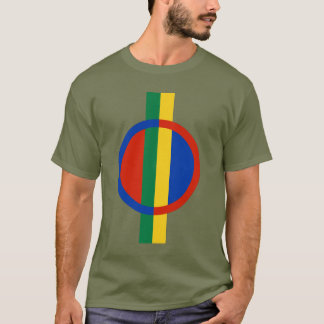 Sami folk flagga tee shirts