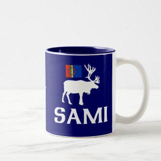 Sami folket av åtta säsonger Två-Tonad mugg