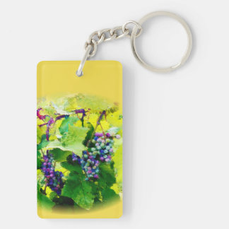 clusters of grapes 17 key chain