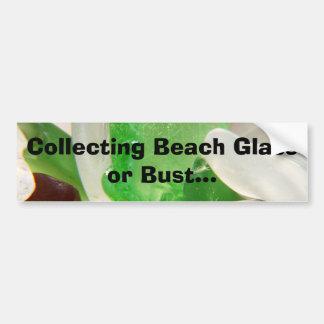 Samla strandexponeringsglas eller bystbildekalet bildekal
