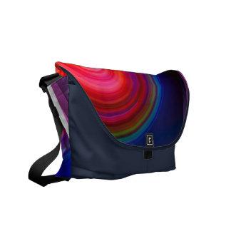 Samling 10 för messenger bagmedelabstrakt kurir väska