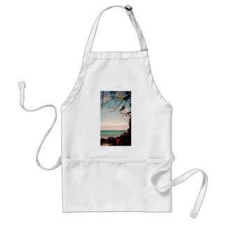 """Samling """"för strand för Maui svartsten"""" Förkläde"""