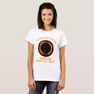 Sammanlagd förmörkelse Salem Oregon T-shirts