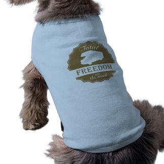 Sammanlagd frihet på den retro vägen klassificerar långärmad hundtöja