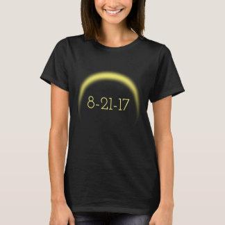 Sammanlagd sol- förmörkelse 2017 t-shirt
