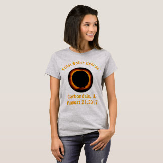 Sammanlagd sol- förmörkelse (Carbondale, IL) T Shirt