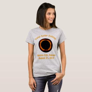 Sammanlagd sol- förmörkelse (Kansas City, Kansas) T Shirts