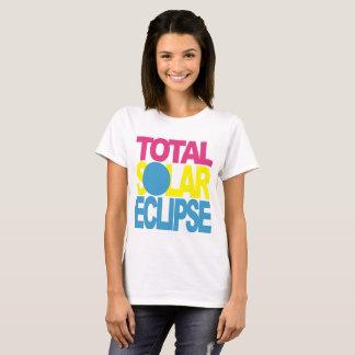 Sammanlagd sol- förmörkelse PYB Tee Shirt