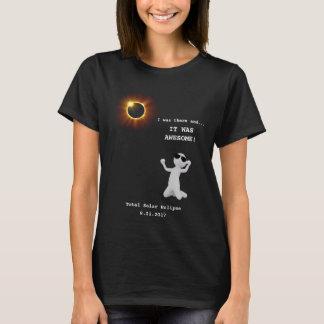 Sammanlagd sol- förmörkelseT-tröja Tröja