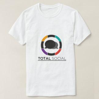 """Sammanlagt socialt manar """"mig t shirts"""