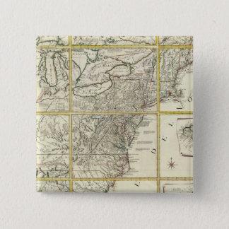Sammansatt karta av United States Standard Kanpp Fyrkantig 5.1 Cm