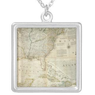 Sammansatt Nordamerika Silverpläterat Halsband