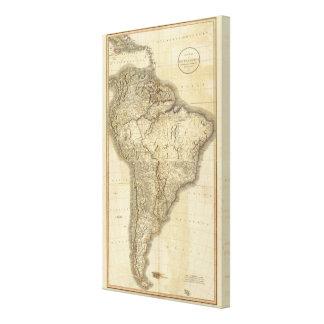Sammansatt South America 3 Canvastryck