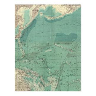 Sammansatt Stilla hav Vykort