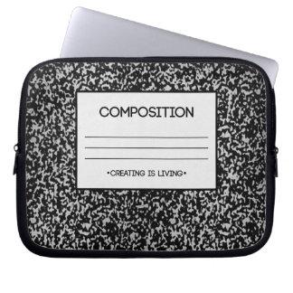 Sammansättningsanteckningsbokdesign Laptop Datorskydd