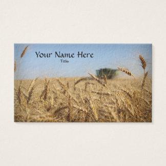 Sammanslutning i vetefält visitkort