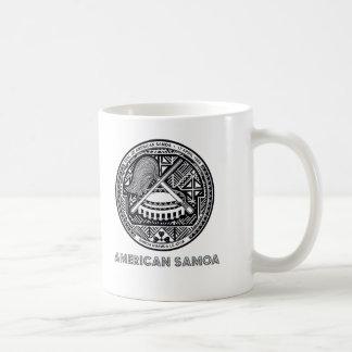 Samoansk Emblem Kaffemugg